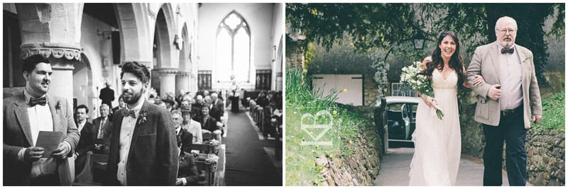 Wiltshire Church Wedding Chiseldon
